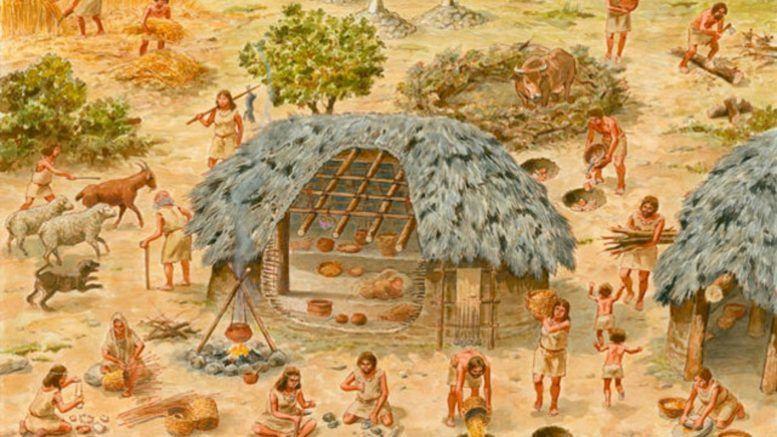 Como nacio la comunidad primitiva