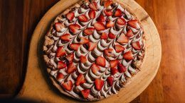 Receta de pizza de chocolate