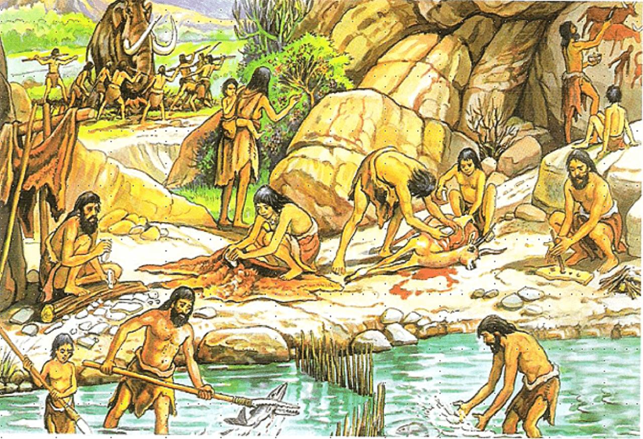 Sociedad primitiva